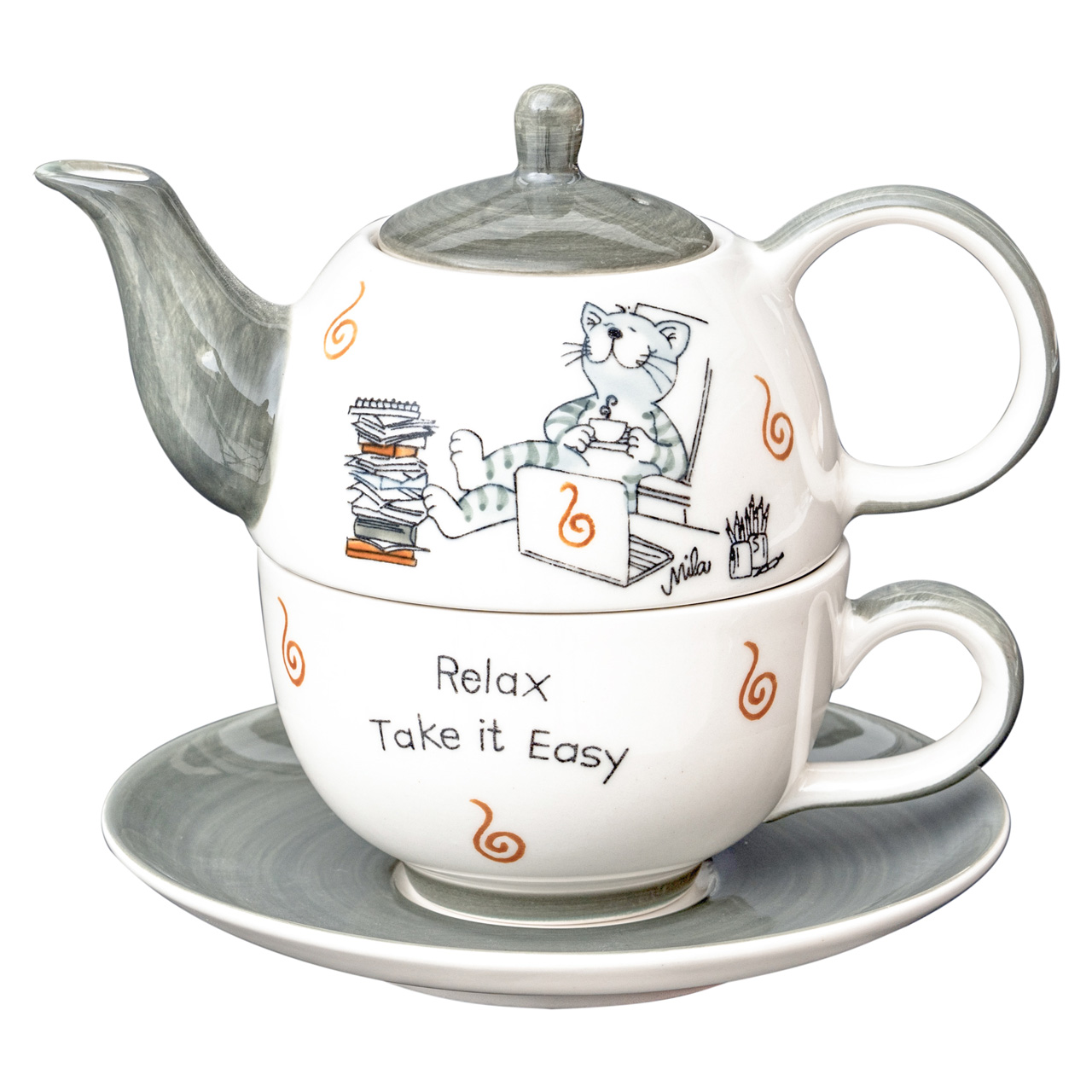 Tea for one - Oommh... relax - take it easy