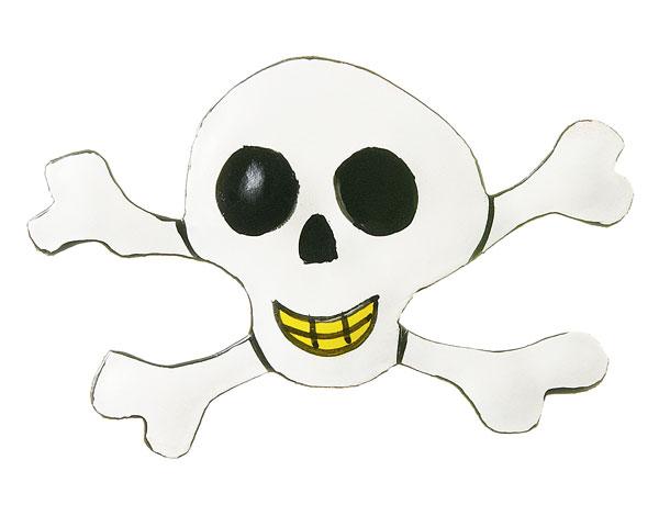 Magnet -  Pirat Captain Jack Parrot, Totenkopf
