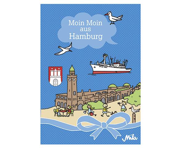 Postkarte - Hamburg