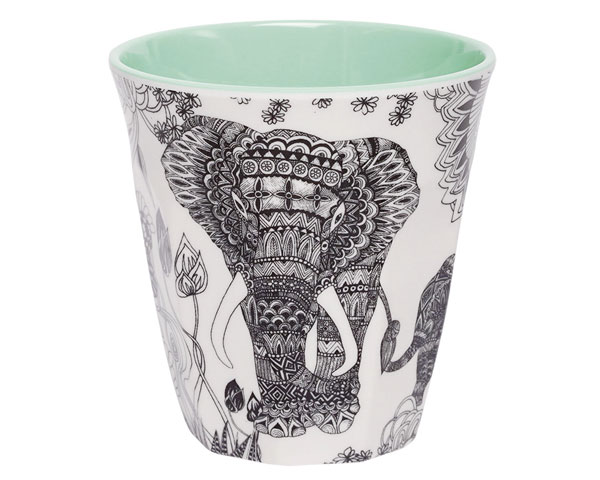 Ginger Melamin Becher - Elephant