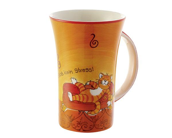 "Coffee Pot - Oommh ""Bloß kein Stress."""