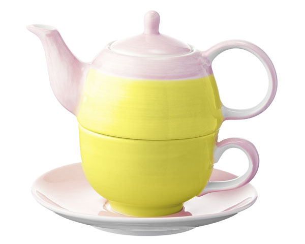 Tea for one - United colours of Mila, gelb