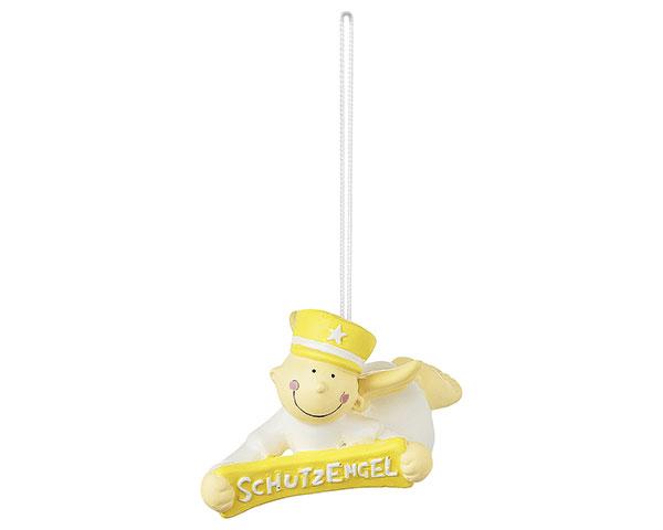 Figur - Schutzengel Fridolin gelb