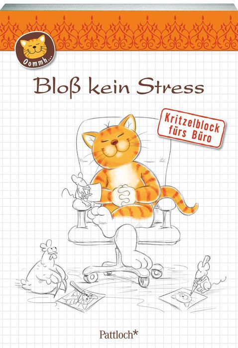 Kritzelblock - Bloß kein Streß