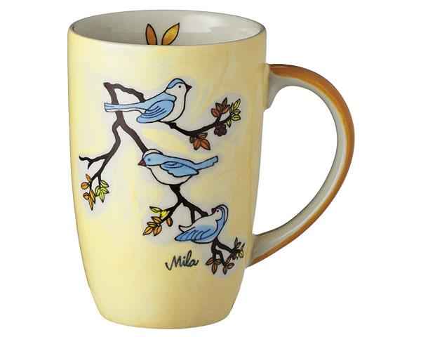 Designbecher - Vögel