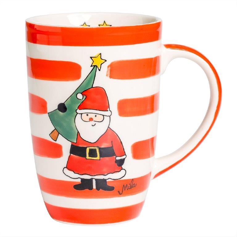 Designbecher - Weihnachtsmann
