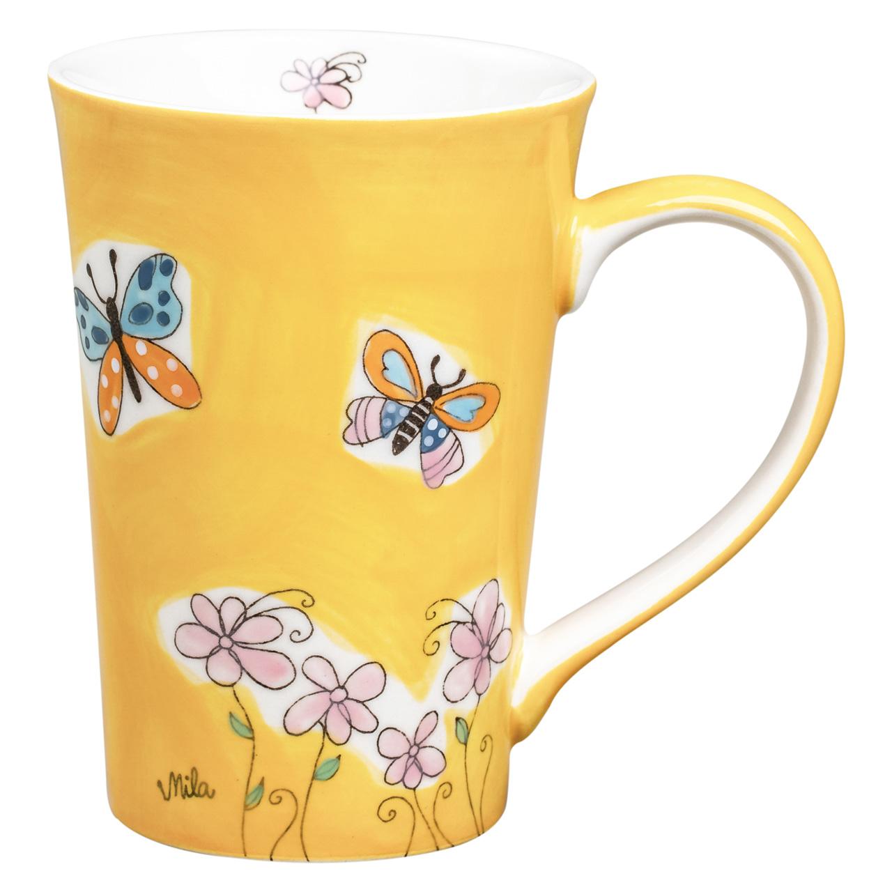 Teebecher - Schmetterlinge