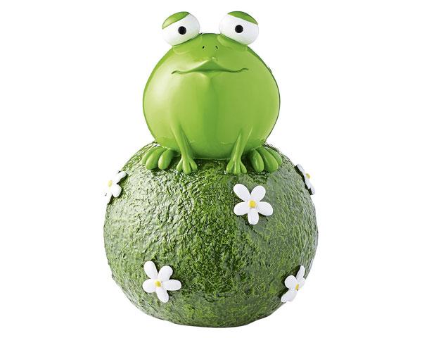 Figur - Gartenkugel Frosch Quak