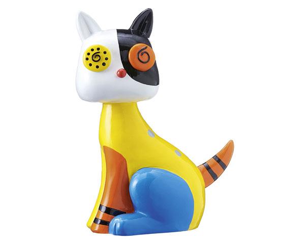 Figur - Happy-Pop Katze gelb