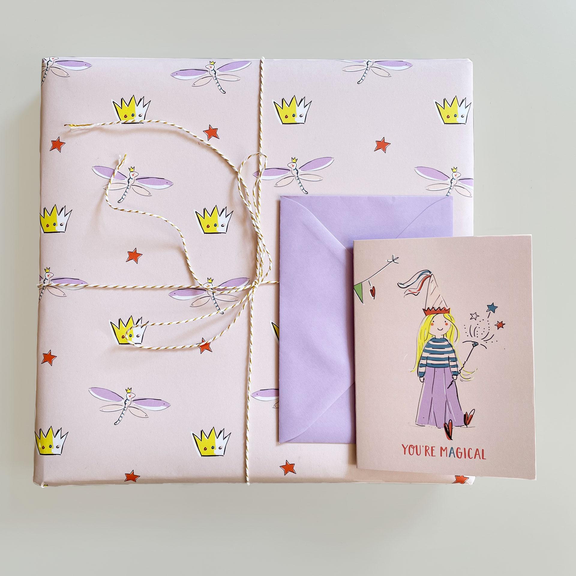 Geschenkpapier - Magical Times
