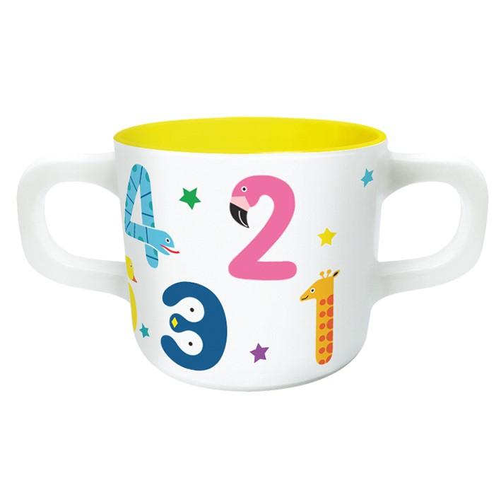 Melamin Baby-Becher - Numbers