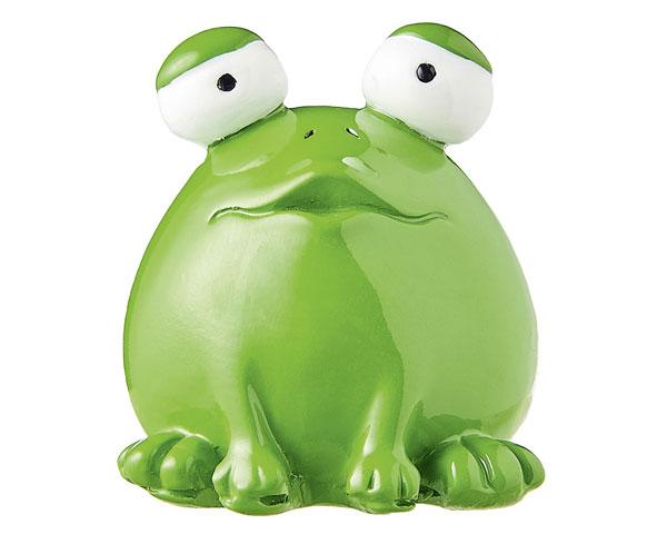 Figur - Frosch Quak, grün