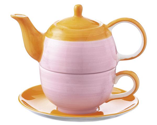 Tea for one - United colours of Mila, rosa