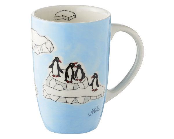 Designbecher - Pinguine