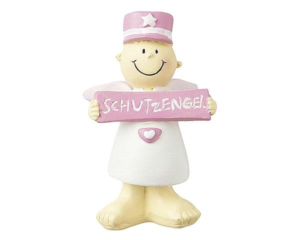Figur - Dein Schutzengel Fridolin pink