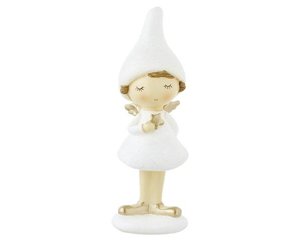 Resin Figur - Kleine Engelfee, stehend 18 cm