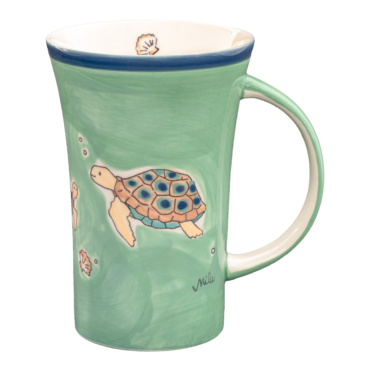 Coffee Pot - Ocean Love