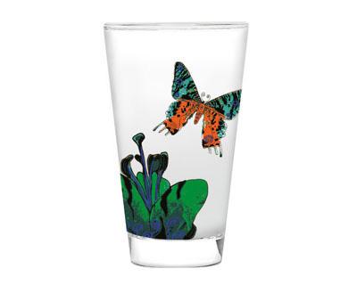 Glas - Fee, dunkelblau