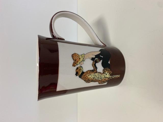 Teebecher - Leopard