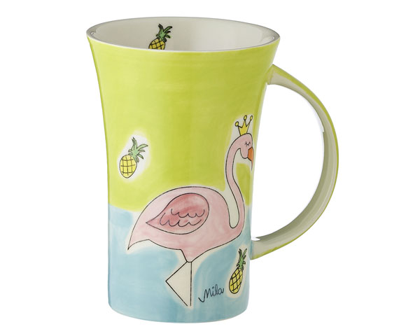 Coffee Pot - Flamingo