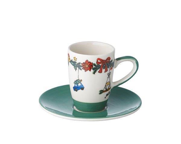 Espresso Tasse - Weihnachtszauber