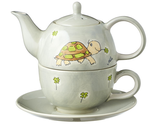 Tea for one - Schildkröte