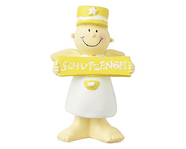 Figur - Dein Schutzengel Fridolin gelb