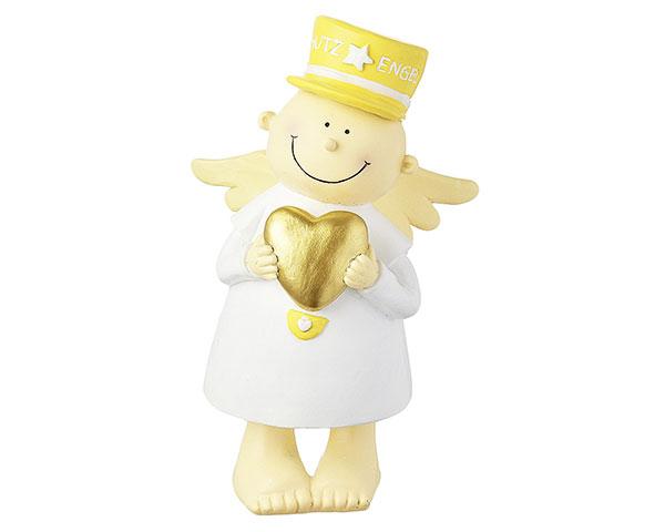 Figur - Schutzengel Fridolin gelb 18 cm