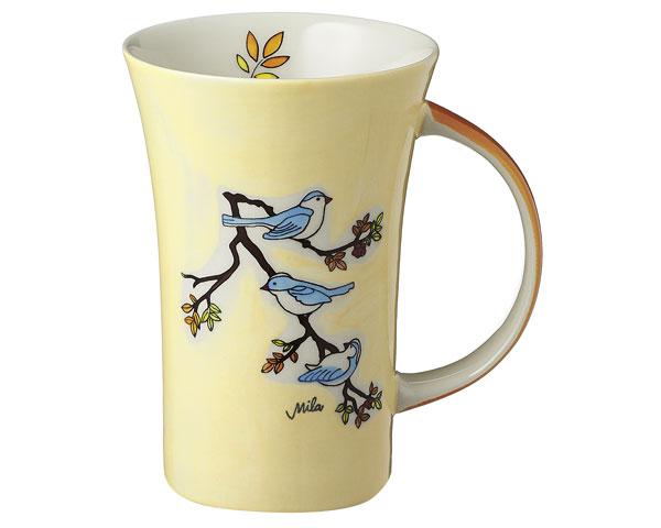 Coffee Pot - Vögel