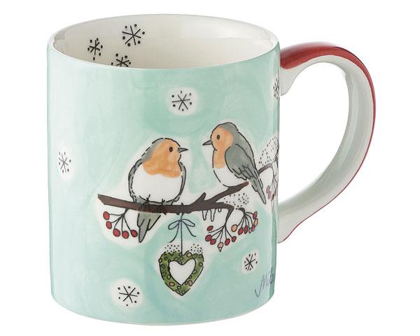 Becher - Wintervögel