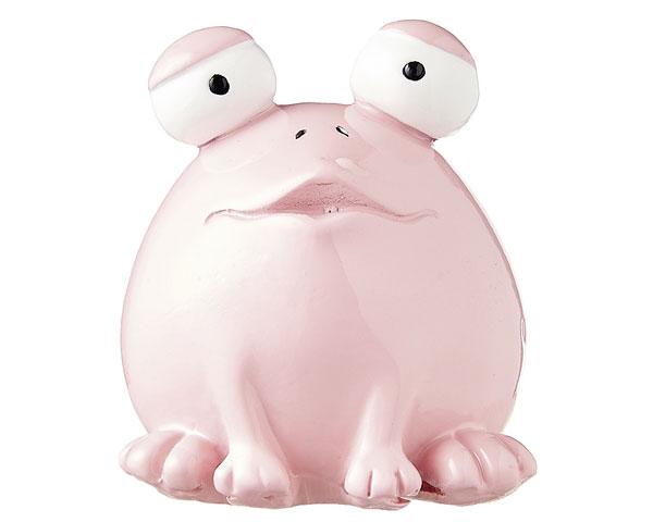 Figur - Frosch Quak, rosa