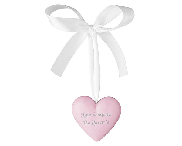 Figur - Anhänger Heart, rosa