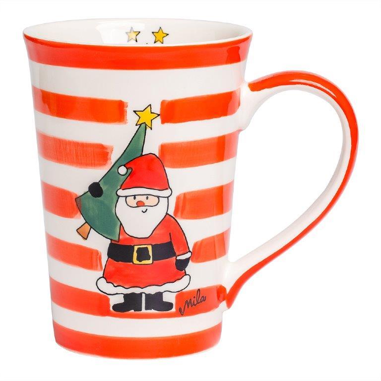 Teebecher - Weihnachtsmann