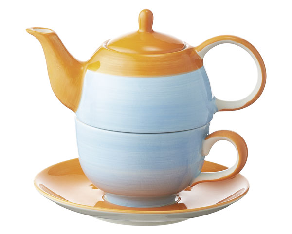 Tea for one - United colours of Mila, blau