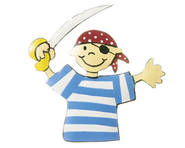 Magnet - Pirat Captain Jack Parrot